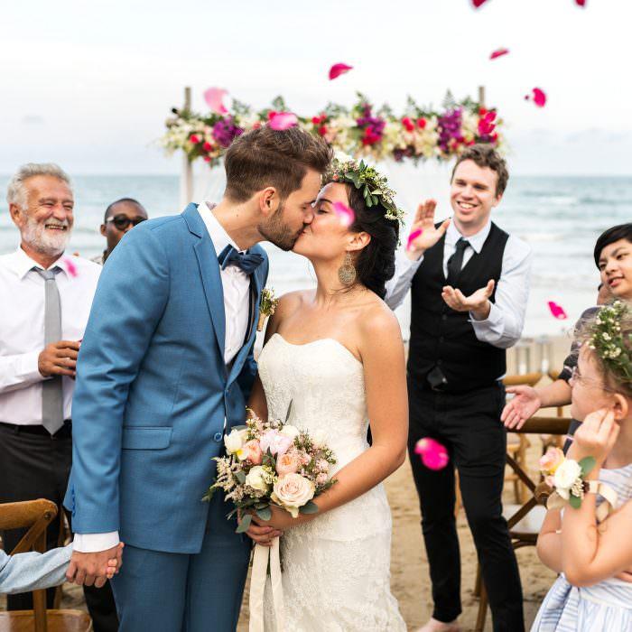 5 Elementos sostenibles para lanzar en bodas